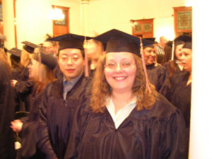 "2004, first Seton Hill graduation (aka ""the spiral perm years"")"