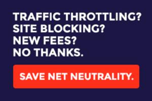 Save net neutrality